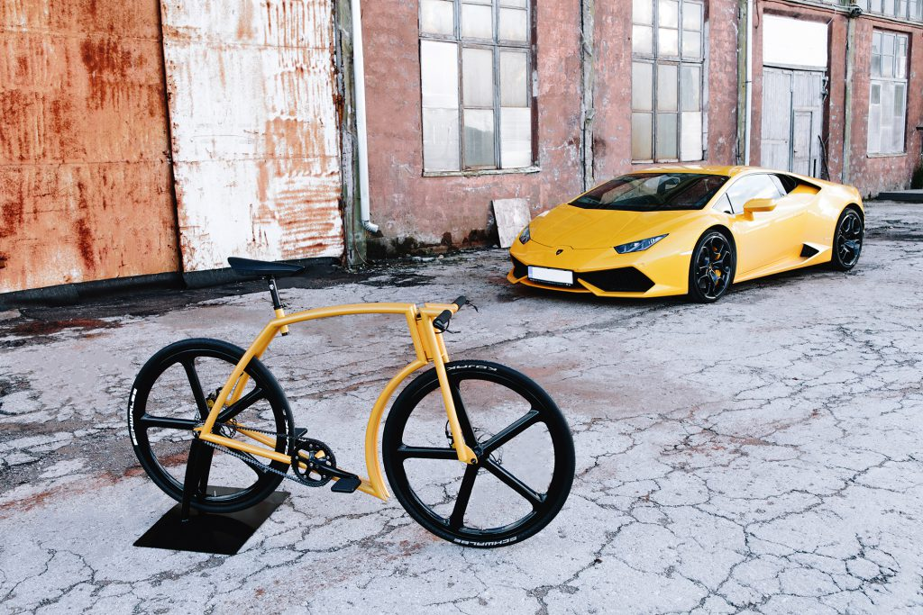 Viks bike Inspired By Lamborghini in life